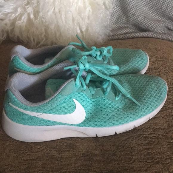 mint color shoes